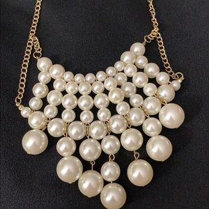 Pearl necklace elegante. Made offers